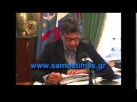 Ο Δήμαρχος Μιχάλης Αγγελόπουλος για Έργα στη Σάμο