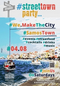 # we make the city # street town party